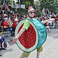Watermelon Lady